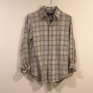 classic muted tone flannel